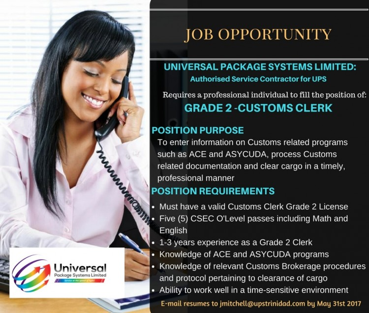 Grade 2 Customs Clerk