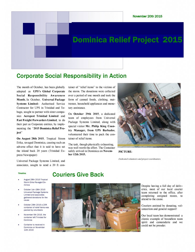Dominica News-page1