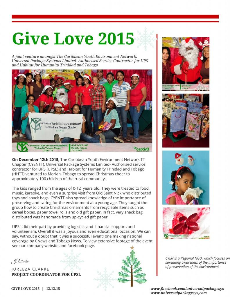 Give Love 2016